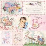 Girl Swaddle Seven Paper - Authentique - PRE ORDER