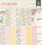 Girl Swaddle 12 x 12 Paper Pad - Authentique