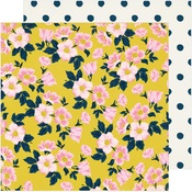 Apple Blossom Paper - Sunny Days - Crate Paper