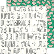 Bright Days Paper - Sunny Days - Crate Paper