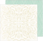 Solstice Gold Foiled Paper - Sunny Days - Crate Paper