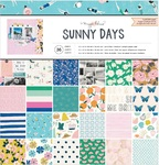 Sunny Days 12 x 12 Paper Pad - Crate Paper