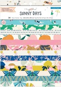 Sunny Days 6 x 8 Paper Pad - Crate Paper - PRE ORDER