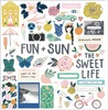 Sunny Days Chipboard Pieces - Crate Paper