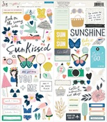 Sunny Days Cardstock Stickers - Crate Paper