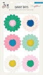 Tissue Paper Flower Stickers - Sunny Days - Crate Paper