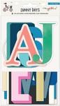 Alpha Die Cut Acetate - Sunny Days - Crate Paper