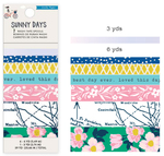 Sunny Days Washi Tape - Crate Paper