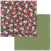 Bouquet Paper - Sweet Clementine - Bo Bunny