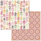 Lavish Paper - Sweet Clementine - Bo Bunny