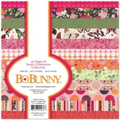 Sweet Clementine 6 x 6 Paper Pad - Bo Bunny