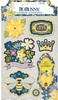 Bee-utiful Layered Chipboard Stickers - Bo Bunny