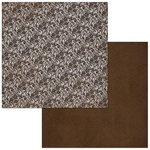 Coffee Lace Paper - Double Dot - Bo Bunny
