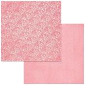 Flamingo Lace Paper - Double Dot - Bo Bunny
