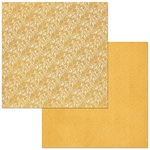 Maize Lace Double Dot Paper - Botanical Journal - Bo Bunny