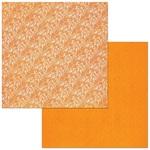 Pumpkin Lace Paper - Double Dot - Bo Bunny