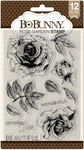 Rose Garden Clear Stamps - Bo Bunny