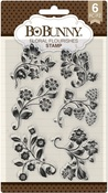 Floral Flourishes Clear Stamps - Bo Bunny