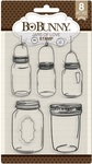 Jars Of Love Clear Stamps - Bo Bunny