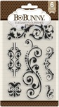 Elegant Flourishes Clear Stamps - Bo Bunny