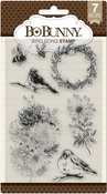 Bird Song Clear Stamps - Bo Bunny - PRE ORDER
