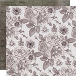 Sombre Botanic Paper - Rosabella - KaiserCraft