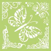 Butterfly Corners KaiserCraft Designer Template - PRE ORDER