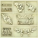 Wonderful Wood Flourishes - Rosabella - KaiserCraft