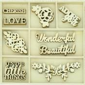 Wonderful Wood Flourishes - Rosabella - KaiserCraft