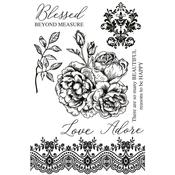 Rosabella Clear Stamps - KaiserCraft - PRE ORDER