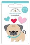 Love Pug Doodlepop - Doodelbug