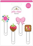 French Kiss Jelly Clips - Doodlebug