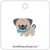 Love Pug Pin - Doodlebug