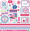 French Kiss This & That Sticker Sheet - Doodlebug