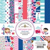French Kiss 6 x 6 Paper Pad - Doodlebug