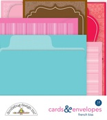 French Kiss Cards & Envelopes - Doodlebug
