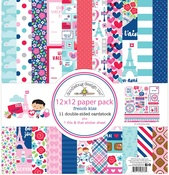 French Kiss Paper Pack - Doodlebug