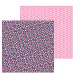 Les Fleurs Paper - French Kiss - Doodlebug