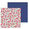 Just Rosey Paper - French Kiss - Doodlebug