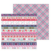 Passion For Plaid Paper - French Kiss - Doodlebug