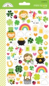 Lots O' Luck Mini Icon Stickers - Doodlebug