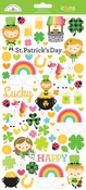 Lots O' Luck Icon Stickers - Doodlebug