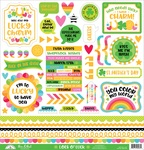 Lots O' Luck This & That Sticker Sheet - Doodlebug