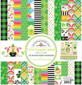 Lots O' Luck Paper Pack - Doodlebug