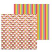 Rainbows End Paper - Lots O' Luck - Doodlebug
