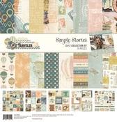 Simple Vintage Traveler Collection Kit - Simple Stories - PRE ORDER