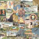 Wanderlust Paper - Simple Vintage Traveler - Simple Stories