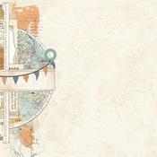 Explore & Discover Paper - Simple Vintage Traveler - Simple Stories - PRE ORDER