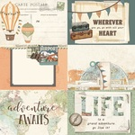 4x6 Element Paper - Simple Vintage Traveler - Simple Stories