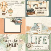 4x6 Element Paper - Simple Vintage Traveler - Simple Stories